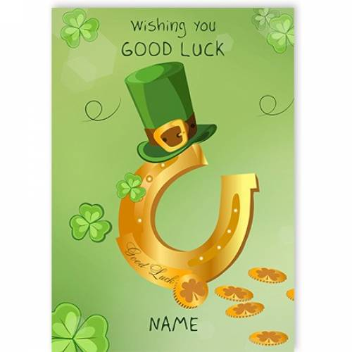 Wishing You Good Luck St. Patrick's Day Card