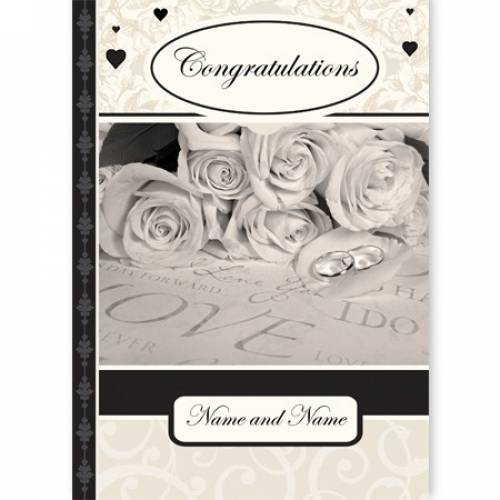 Congratulations Perfect Wedding Day Wedding Card