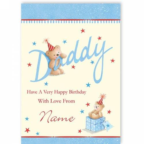 Daddy Have A Very Happy Birthday Card