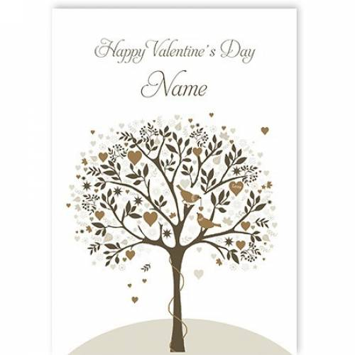 Happy Valentine's Day Songbirds Card