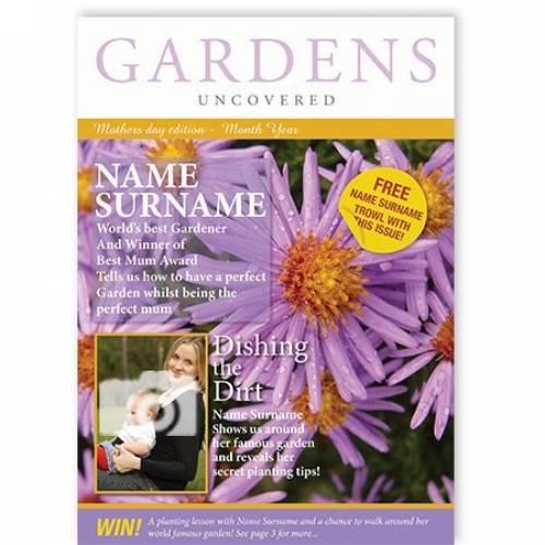 World's Best Gardener Mother's Day Card