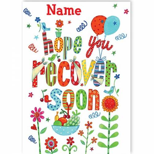 Hope You Recover Soon Card