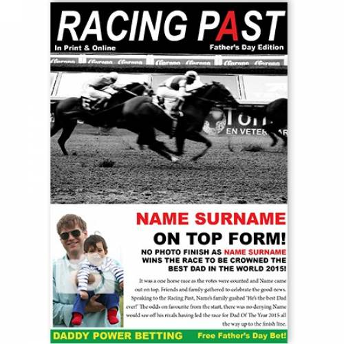 Racing Post Best Dad In The World Card
