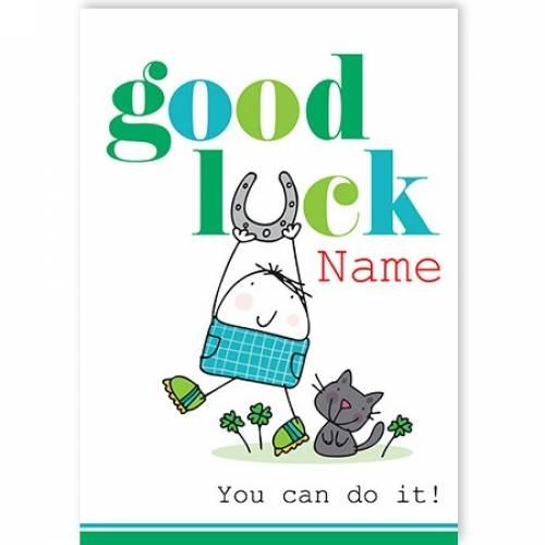 Good Luck You Can Do It Exams Card