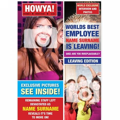 Howya Leaving Retirement Personalised Photo Card