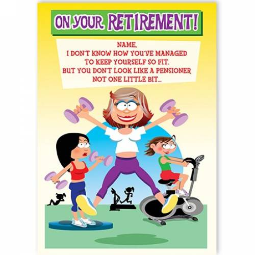 Female Retirement Card