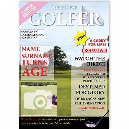 The Junior Golfer Card