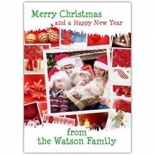 Happy New Year Photos Christmas Card