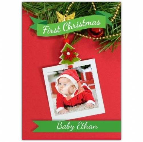 Tree Decoration Christmas Card