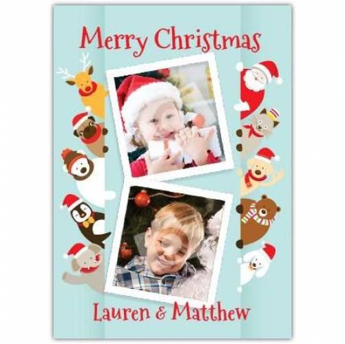 Merry Christmas Gang Card