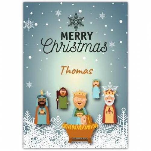 Merry Christmas Wise Men Card