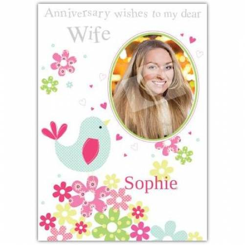 Anniversary Wishes To Wife Anniversary Card