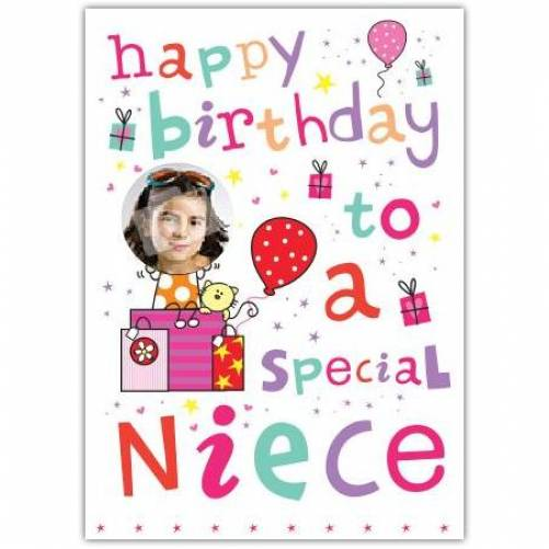 Special Niece Birthday Card