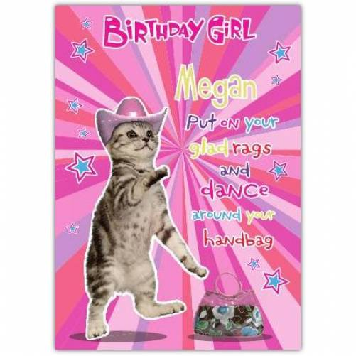 Glad Rags And Dance Birthday Girl Card