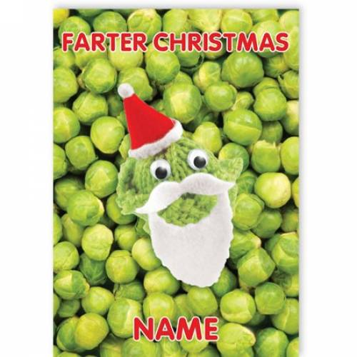 Farter Christmas Greeting Card
