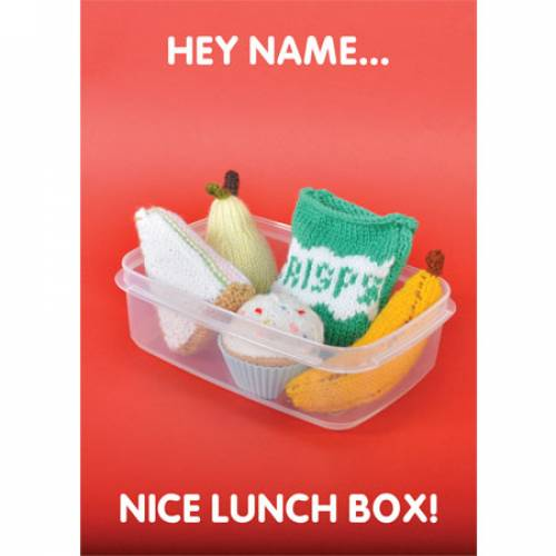 Nice Lunch Box! Greeting Card