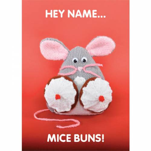 Mice Buns! Greeting Card