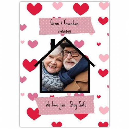 We Love You - Stay Safe Greeting Card