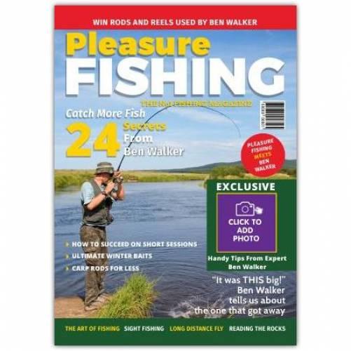 Pleasure Fishing One Photo Greeting Card
