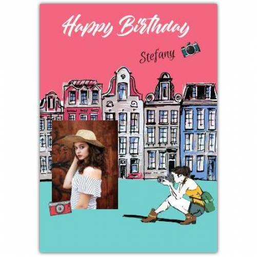 Happy Birthday Town Photography  Card