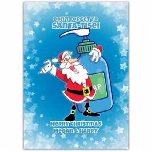 Don't Forget To Santa-tise Christmas Card