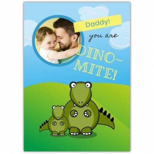 Father's Day Humor Dinosaur  Card