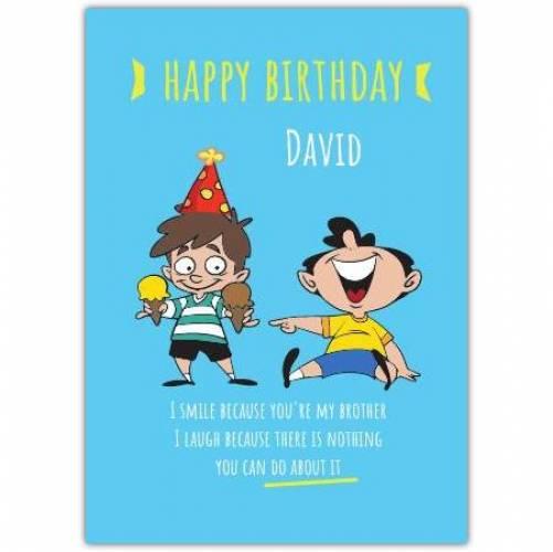 Happy Birthday Humor  Card