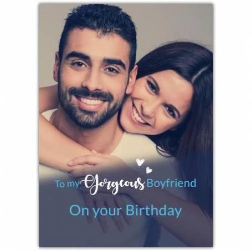 Happy Birthday Big Photo Card