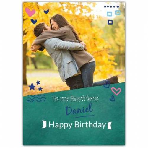 Happy Birthday With Shapes Card