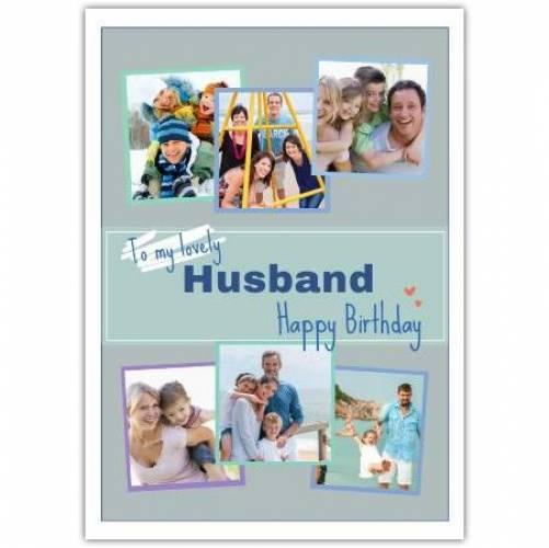 Happy Birthday 6 Frames Card