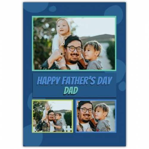 Happy Father's Day 3 Farmes  Card