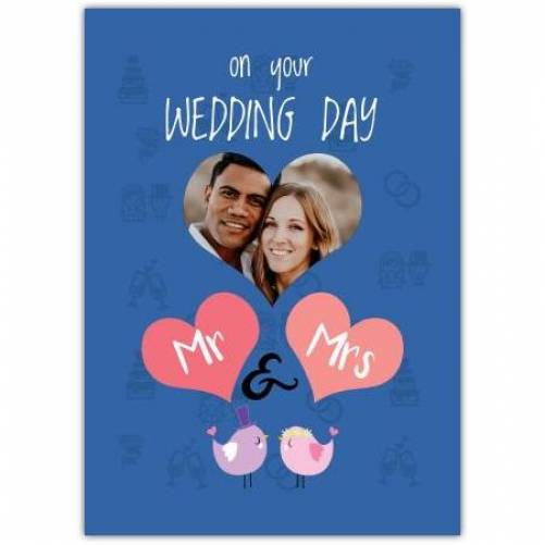 On Your Wedding Day Mr & Mrs Card